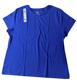 RGRiley.com | Womens Just My Size Blue Blaze T-Shirts | Closeout