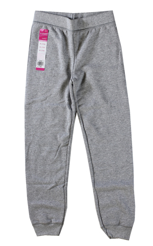 RGRiley | Hanes Girls Light Steel Fleece Jogger Sweatpants | Closeout