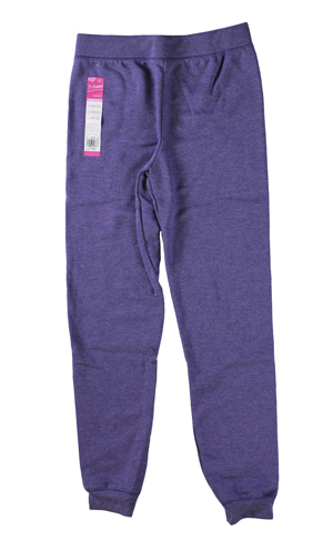 RGRiley | Hanes Girls Violet Stone Heather Jogger Sweatpants | Closeout