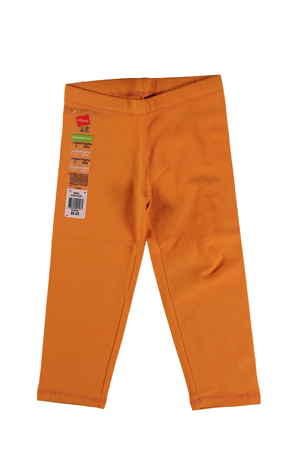 RGRiley | Hanes Girls Orange Leggings | Closeout