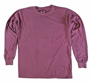 RGRiley | Comfort Color Berry Long Sleeve T-Shirts | Mill Graded