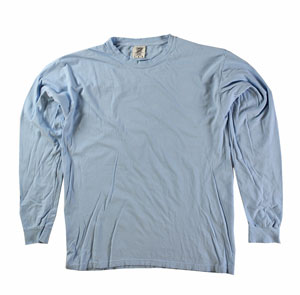 RGRiley | Comfort Color Chambray Long Sleeve T-Shirts | Mill Graded