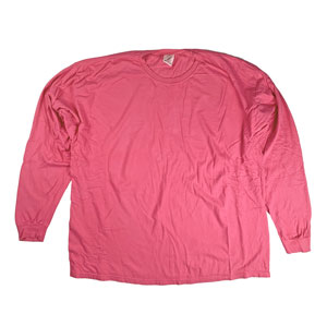 RGRiley | Comfort Color Crunchberry Long Sleeve T-Shirts | Mill Graded