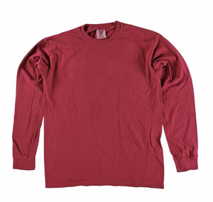 RGRiley | Comfort Color Chilli Pepper Long Sleeve T-Shirts | Mill Graded