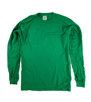 RGRiley | Comfort Color Clover Long Sleeve T-Shirts | Mill Graded