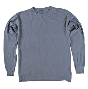 RGRiley | Comfort Color Demin Long Sleeve T-Shirts | Mill Graded