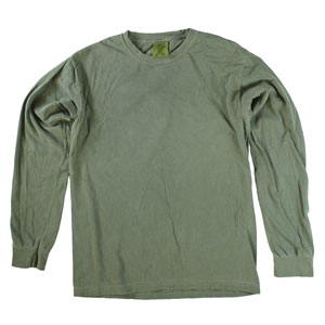 RGRiley | Comfort Color Hemp Long Sleeve T-Shirts | Mill Graded