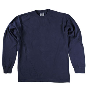 RGRiley | Comfort Color Midnight Long Sleeve T-Shirts | Mill Graded