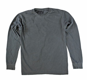 RGRiley | Comfort Color Pepper Long Sleeve T-Shirts | Mill Graded