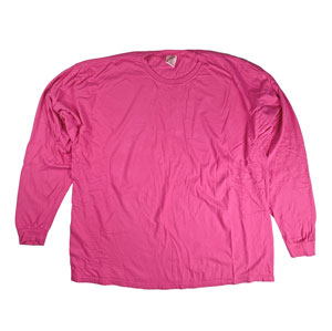 RGRiley | Comfort Color Raspberry Long Sleeve T-Shirts | Mill Graded