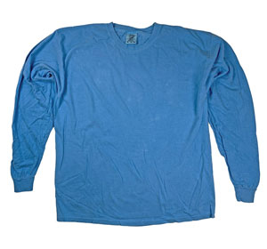 RGRiley | Comfort Color Royal Caribbean Long Sleeve T-Shirts | Mill Graded