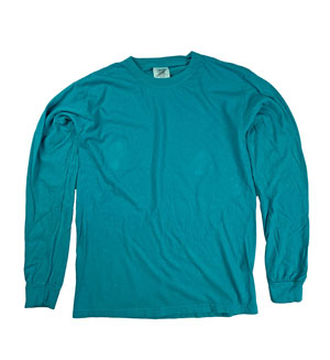 RGRiley | Comfort Color Topaz Long Sleeve T-Shirts | Mill Graded