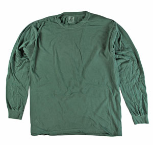 RGRiley | Comfort Color Willow Long Sleeve T-Shirts | Mill Graded