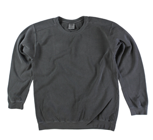 RGRiley | Comfort Color Pepper Crew Neck Sweatshirts | Irregular