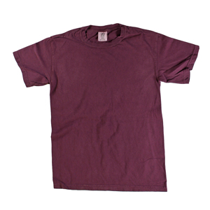 RGRiley | Comfort Color Mens Burgundy Short Sleeve T's | Closeout | Marginal