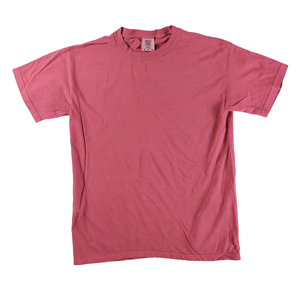 RGRiley | Comfort Color Mens Crimson Short Sleeve T-Shirts | Closeout | Marginal