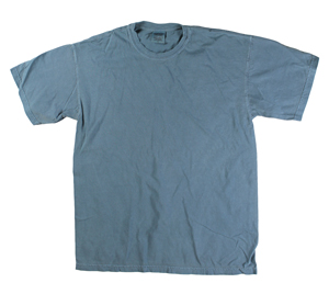 RGRiley | Comfort Color Mens Lake Blue Short Sleeve T's | Closeout | Marginal