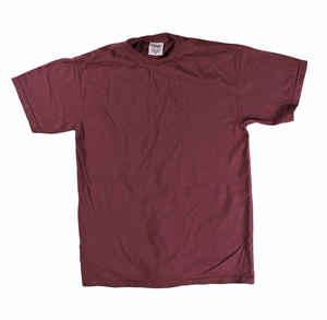 RGRiley | Comfort Color Mens Maroon Short Sleeve T's | Closeout | Marginal