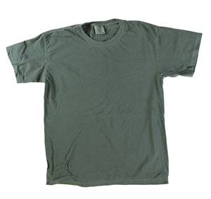 RGRiley | Comfort Color Mens Moss Short Sleeve T-Shirts | Closeout | Marginal