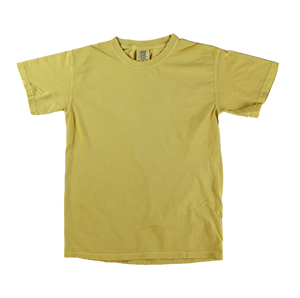 RGRiley | Comfort Color Mens Mustard Short Sleeve T's | Closeout | Marginal