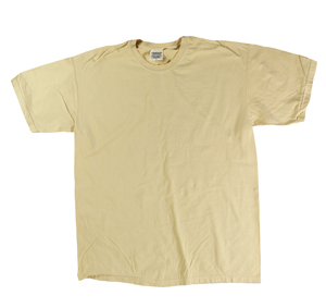 RGRiley | Comfort Color Mens Maize Short Sleeve T's | Closeout | Marginal
