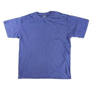 RGRiley | Comfort Color Mens Perwinkle Short Sleeve T's | Closeout | Marginal