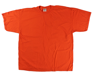RGRiley | Comfort Color Mens Tangerine Short Sleeve T's | Closeout | Marginal