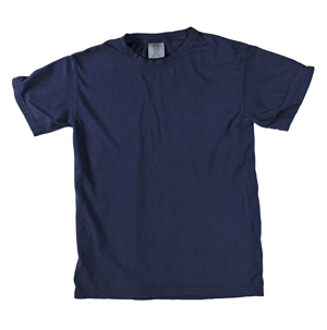 RGRiley | Comfort Color Mens True Blue Short Sleeve T-Shirts | Marginals