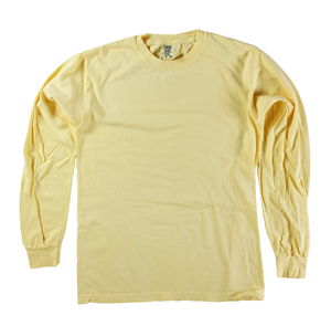 RGRiley | Comfort Color Marginal Butter Long Sleeve T-Shirts | Closeout