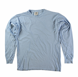 RGRiley | Comfort Color Marginal Chambray Long Sleeve T-Shirts | Closeout