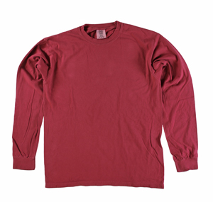 RGRiley | Comfort Color Marginal Chili Pepper Long Sleeve T-Shirts | Closeout