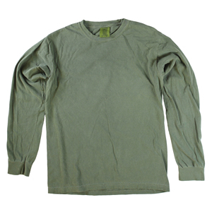 RGRiley | Comfort Color Marginal Hemp Long Sleeve T-Shirts | Closeout