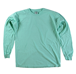 RGRiley | Comfort Color Marginal Island Reef Long Sleeve T-Shirts | Closeout