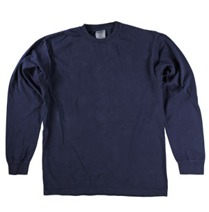 RGRiley | Comfort Color Marginal Midnight Long Sleeve T-Shirts | Closeout