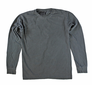 RGRiley | Comfort Color Marginal Pepper Long Sleeve T-Shirts | Closeout