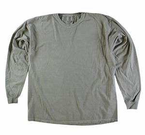 RGRiley | Comfort Color Marginal Sandstone Long Sleeve T-Shirts | Closeout