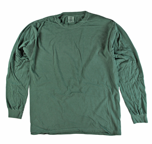 RGRiley | Comfort Color Marginal Willow Long Sleeve T-Shirts | Closeout