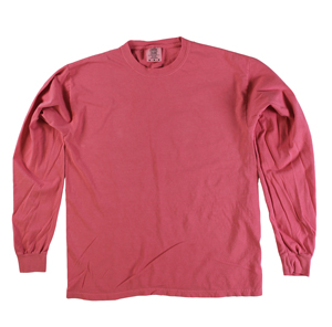 RGRiley | Comfort Color Marginal Watermelon Long Sleeve T-Shirts | Closeout