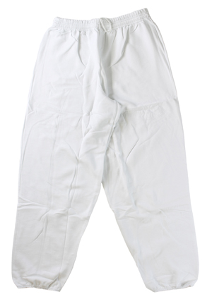 RGRiley | Hanes Mens White Fleece Sweatpants | Closeout