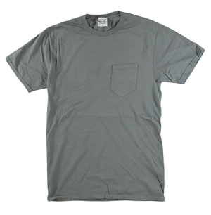 RGRiley | Mens Bulk Garment Dyed T-Shirts Pewter | Graded Irregular