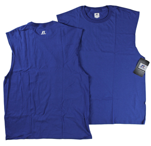 RGRiley | Mens Russell Royal Muscle Shirts | Closeout