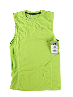RGRiley | Russell Athletic Mens Lime Muscle T-Shirts | Closeout