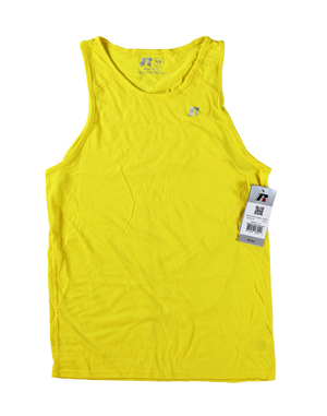 RGRiley | Mens Russell Athletic Empire Yellow Tank Tops | Closeout
