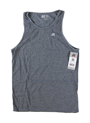RGRiley | Mens Russell Athletic Metal Grey Tank Tops | Closeout