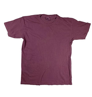 RGRiley | Mens Comfort Color Boysenberry Short Sleeve T-Shirts | Mill Graded