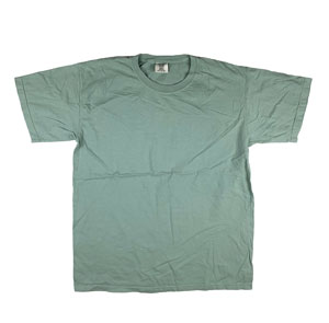 RGRiley | Mens Comfort Color Bay Blue Short Sleeve T-Shirts | Mill Graded