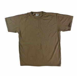 RGRiley | Mens Comfort Color Brown Short Sleeve T-Shirts | Mill Graded
