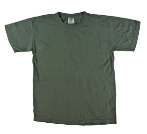 RGRiley | Mens Comfort Color Blue Spruce Short Sleeve T-Shirts | Mill Graded