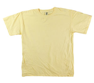 RGRiley | Mens Comfort Color Butter Short Sleeve T-Shirts | Mill Graded