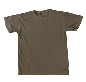 RGRiley | Mens Comfort Color Chocolate Short Sleeve T-Shirts | Mill Graded